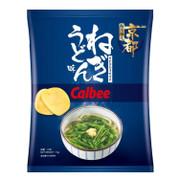 CALBEE - Potato Chips Green Onion Udon Flavor |卡樂B 日式蔥烏冬味薯片 70g
