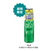Morinaga Ramune Candy Bottle Melon Soda Flavor | 森永 波子汽水糖樽型(蜜果梳打味) 27G