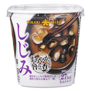 HIKARI Cup Miso Soup Freshwater Clam Flavor 即沖杯裝味噌湯 蜆肉味  21g