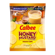 CALBEE - Potato Chips Honey Mustards Flavor |卡樂B 蜜糖芥末味薯片 68g