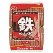 HAMADA Healthy Club Iron Plus Wafles Chocolate Flavor 哈瑪達 鐵質威化餅 朱古力味 40pcs