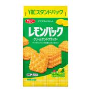 YBC Levain Lemon Sandwich Crackers | 山崎 檸檬夾心餅 9pcs x 2