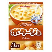 POKKA SAPPORO Happy Soup - Potage With Crouton 日本Pokka 濃厚薯仔忌廉湯 3pcs