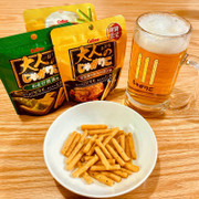 CALBEE - Jagarico  Corn Mustard Bacon Flavor 卡樂B 芥末煙肉味 脆條 38G