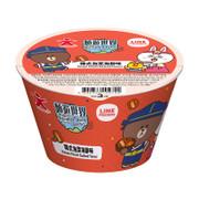 DOLL Instant Noodle Kimchi Seafood Bowl 公仔 即食麵杯麵 韓式泡菜海鮮味 76g