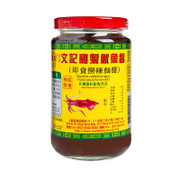 MAN KEE Cuttlefish Sauce Spicy Sauce for Noodles 文記 秘製魷魚醬(撈麵醬) 398G