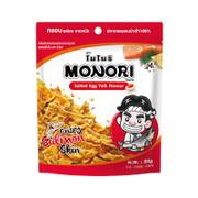 MONORI Crispy Salmon Skin Salted Egg  Flavor | 泰國 脆香三文魚皮 鹹蛋味 20g