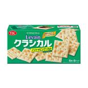 YBC Levain Classical Cracker - No Topping Salt | 山崎 鹽味梳打餅 減鹽版 6pcs x 9