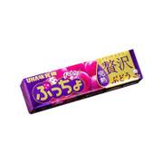 UHA Puccho Stick Candy Grape 味覺糖 果肉條裝糖 紅提味 50g 10Pcs