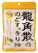 RYUKAKUSAN Throat Refreshing Drop Candy Shekwasha Flavor | 龍角散 潤喉糖青檸味 88G