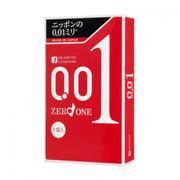 OKAMOTO Condoms Zero One 0.01mm 岡本0.01mm極限超薄安全套 3Pcs (日本版)