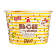 DOLL Instant Noodles Hello Kitty Dim Sum Japanese Curry Flavor 公仔Hello Kitty 點心麵日式咖喱味 33G