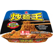 DOLL Instant Fried Noodle Seafood Oyster Sauce Flavor | 公仔 炒麵王蠔油海鮮 118g