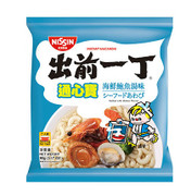 NISSIN Instant Macaroni Seafood with Abalone Flavor | 出前一丁 通心寶海鮮鮑魚湯味 90g