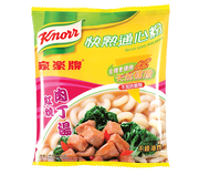 KNORR Quick Serve Macaroni BBQ Broth Flavor | 家樂牌 快熟通心粉肉丁味 80g