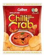 CALBEE - Potato Chips Singapore Chilli Crab Flavor | 卡樂B 新加坡香辣螃蟹味薯片 55G