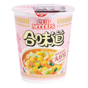 NISSIN Cup Instant Noodle Shrimp and Salt Flavor 75g | 日清 合味道北海道風味鮮蝦鹽味杯麵 75g