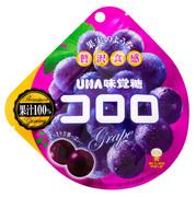 UHA Cororo Premium Fruit Juice Gummy Candy Grape Flavor | 味覺糖-  巨峰提子味果汁軟糖  40g