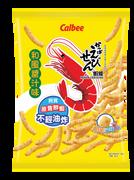CALBEE - Prawn Crackers Okonomiyaki Flavor | 卡樂B 和風醬汁味蝦條90g