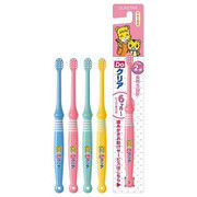 SUNTAR Toothbrush for Kids | 巧虎幼兒軟毛兒童牙刷 1枝 (6 Years Old or Above) (Color Choice: Blue/Yellow/Pink)