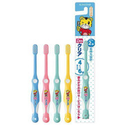 SUNTAR Toothbrush for Kids | 巧虎幼兒軟毛兒童牙刷1枝 (4-6 Years Old) (Color Choice: Blue/Yellow/Pink/Green )