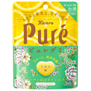 Kanro Pure Collagen Gummy Lemon Flavor | 甘樂 檸檬味 鮮果心型軟糖 56g