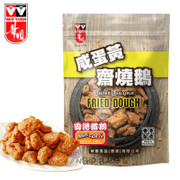 WAHYUEN - Fried Dough Salted Egg Yolk Flavor | 華園 鹹蛋黃 齋燒鵝 84G