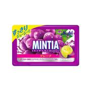 ASAHI Mintia Sugarless Mint Candy Grape Flavor | 朝日 口腔清新巨峰提子味無糖薄荷糖50Tablets