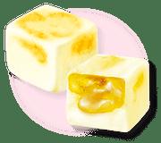 KABAYA Pureal Fruit Gummy Apple Flavor | KABAYA 雙層夾心水果軟糖 蘋果45g