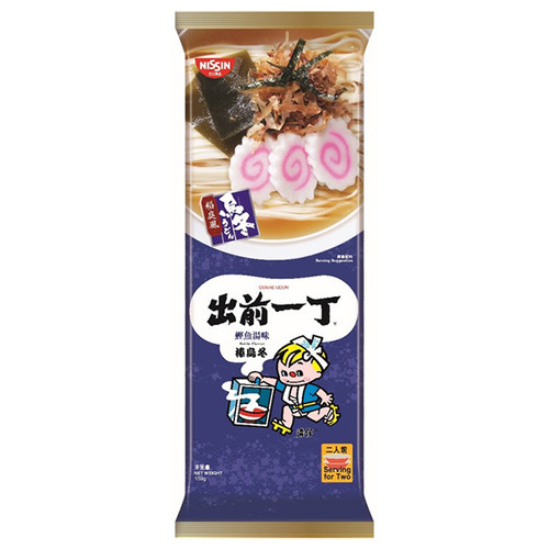 DEMAE Iccho Bar Udon Bonito Flavor   出前一丁 棒烏冬鰹魚湯味 159g 2pcs