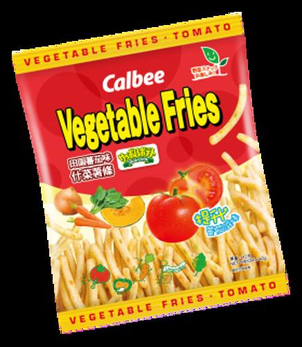 CALBEE - Vegetable Fries Tomato Flavor 卡樂B蕃茄味薯條 42G