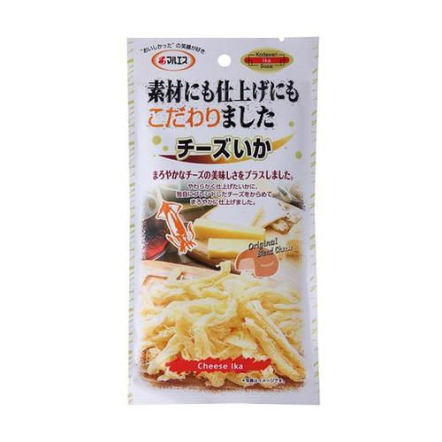 Maruesu - Dried Shredded Cuttlefish Cheese Flavour | 瑪魯斯芝士味魷魚絲 31G