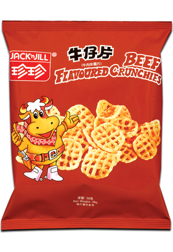 JACK N JILL Potato Cracker Beef Flavor | 珍珍牛仔片38g