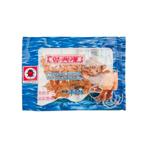 LADYBIRD Dried Seasoned Cuttlefish | 時興隆 金龜嘜魷魚絲 13/21g