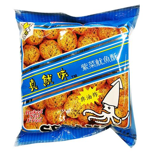 SZE HING LOONG Baked Seaweed Flavor Cuttlefish Balls   時興隆 真魷味紫菜味魷魚果 14.5G【1包/8包裝】