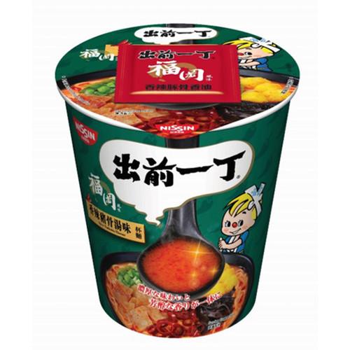 NISSIN Demae Iccho Cup Spicy Tonkotsu Flavour   日清 出前一丁 杯麵 香辣豬骨湯味 75g