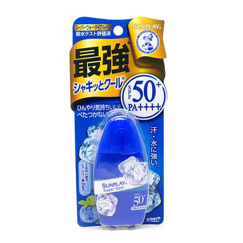 SUNPLAY Ultra Range Super Block Super Cool | 最強 戶外防曬 清透涼爽型 SPF50+ PA++++  30G