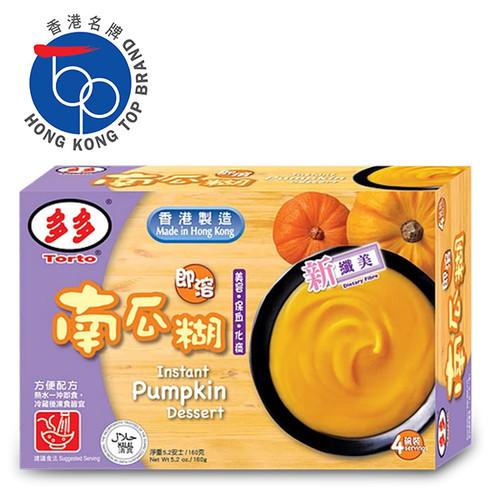 Torto - Powdered Pumpkin Dessert   多多 即溶南瓜糊 4碗裝 160G