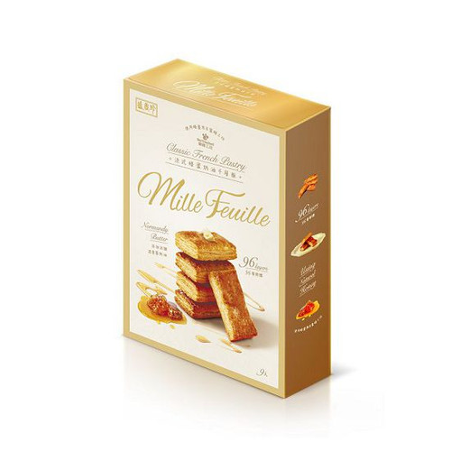 Triko Classic French Pastry Normandy Butter Mille-Feuille 盛香珍-法式蜂蜜奶油千層酥 100g