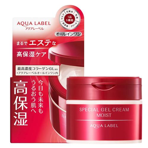 AQUA LABEL Special Gel Cream Moist 水之印 五合一 彈力保濕 面霜 90g