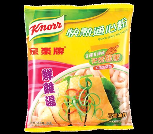 KNORR Macaroni Chicken Flavor   家樂牌 快熟通心粉鮮雞湯味 80g