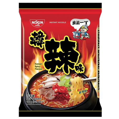 DEMAE Ramen Instant Noodle Korean Spicy Flavor | 出前一丁 韓辣味即食麵 100g