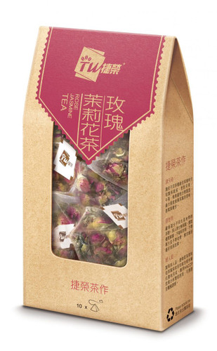 TSIT WING Rose Jasmine Tea Bag   捷榮 玫瑰茉莉花茶原葉茶包 2.5gx10sachets
