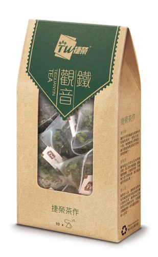 TSIT WING Tieguanyin Tea Bag  | 捷榮 鐵觀音原葉茶包 2.5gx10sachets