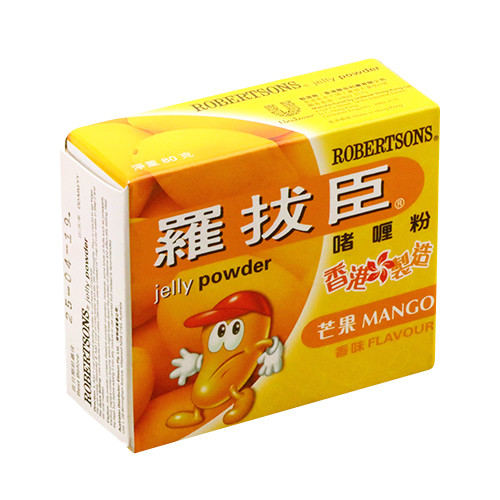 ROBERTSON Jelly Powder Mango Flavor   羅拔臣 啫喱粉芒果味 80g