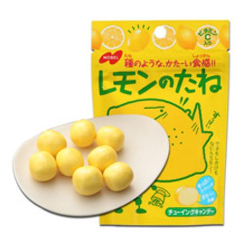 NOBEL Lemon Sour Candy | NOBEL 勁酸檸檬夾心軟糖 35g