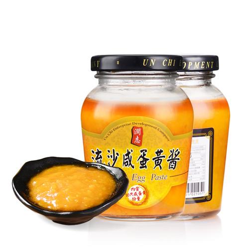Un-Chi Salted Egg Paste 潤志 流沙鹹蛋黃醬 180g