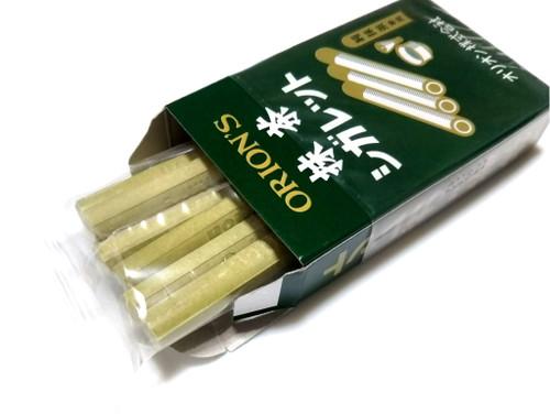 ORION| Matcha Tea Stick Candy 抺茶香煙糖 14G