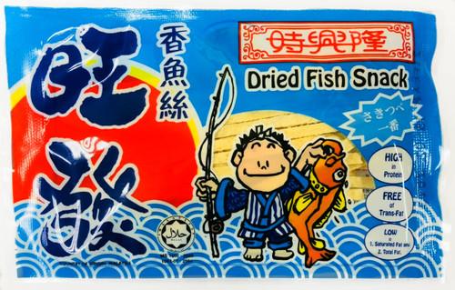 WANFA Dried Fish Snack   旺發 鱈魚香絲 8G