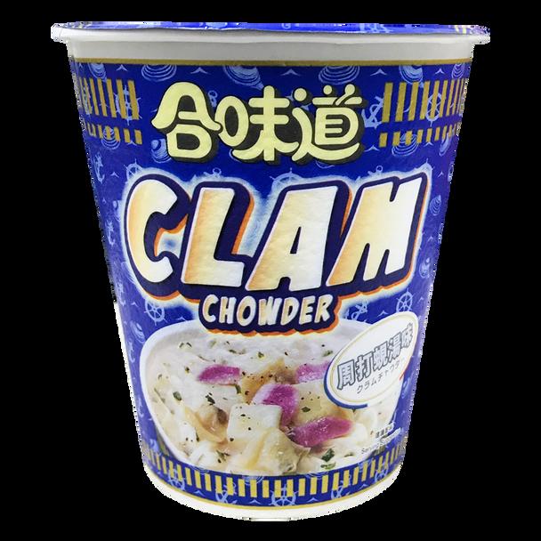 NISSIN Cup Noodles Clam Chowder Flavor | 日清合味道周打蜆湯味杯麵 75g